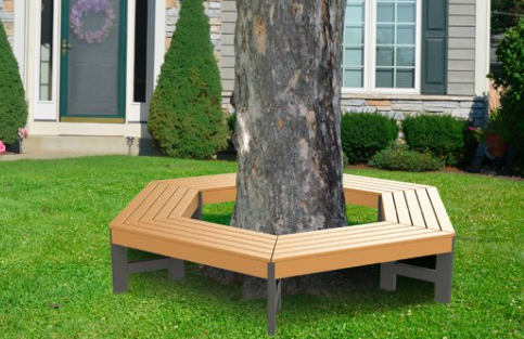 New outdoor furniture products by mps direct mps direct Circular tree bench
