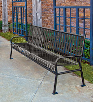 patio furniture park bench